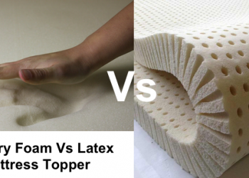 Latex vs Memory Foam Mattress Topper